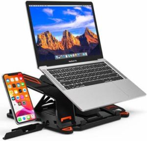 11. Besign Adjustable Laptop Stand, Ergonomic Riser Computer Holder Stand