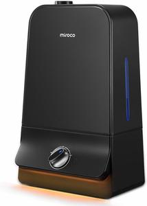 4. Miroco MI-AH001 Ultrasonic Cool Humidifier