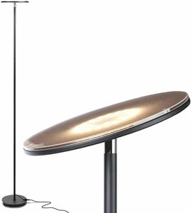 1. Brightech Sky LED Torchiere Super Bright Floor Lamp
