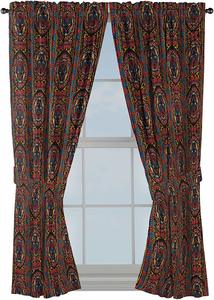 1. Jay Franco Marvel Black Panther Tribal 63 inch Drapes 4 Piece Set
