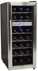 10. EdgeStar TWR215ESS 21 Bottle Stainless Steel Wine Cooler