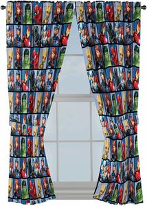 2. Jay Franco Marvel Avengers Team 63 inch Drapes 4 Piece Set