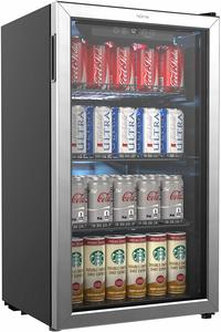 2. hOmeLabs Beverage Refrigerator and Cooler - 120 Can