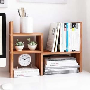 3. Jerry & Maggie - Desktop Organizer -True Natural Stand Shelf