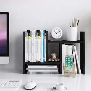 4. Jerry & Maggie - Desktop Organizer Office Storage Rack G��Black
