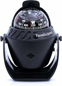 5. Boat Compass Dash Mount Flush - Boating Compass