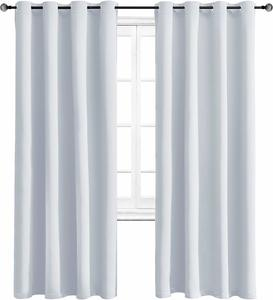 5. WONTEX Blackout Curtains Room Darkening Thermal Insulated