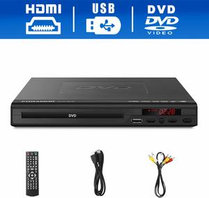 6. Foramor HDMI DVD Player for TV Support 1080P Full HD