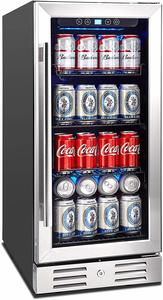 6. Kalamera 15 Beverage Cooler 96 can