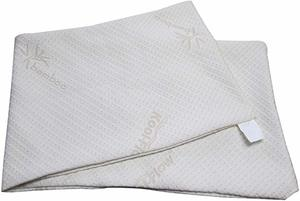 6. Snuggle-Pedic Zipper Removable Body Pillow Cover