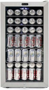 8. Whynter BR-128WS Lock, 120 Can Capacity Refrigerator