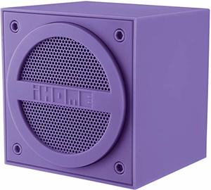 8. iHome Bluetooth Rechargeable Mini Speaker Cube