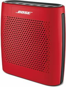 9. Bose SoundLink Color Bluetooth Speaker (Red)