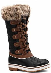 #1 ALEADER Women's Winter Snow Boots