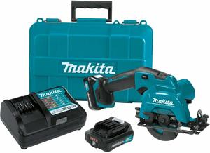 #1 Makita SH02R1 12V Max CXT Cordless Lithium-Ion Circular Saw Kit