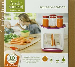 1. Infantino Squeeze Station Baby Food Maker