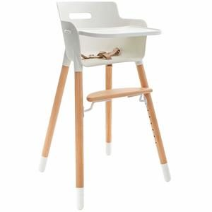10. WeeSprout Wooden High Chair 3-in-1