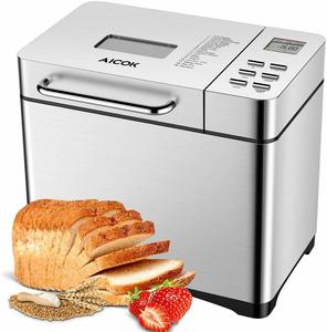 #12 Aicok Stainless Steel Bread Machine