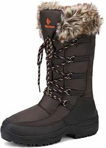 #2 DREAM PAIRS Women's Faux Fur Lined Boots