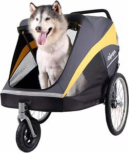 #2 Large Pet Stroller for Multiple Medium or One Large Dog