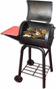 #2. Char-Griller E1515 Patio Pro Charcoal Grill, Black