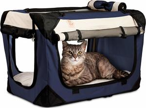 #3 PetLuv Happy Cat Premium Cat Carrier