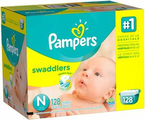 3. Pampers Swadlers Size N