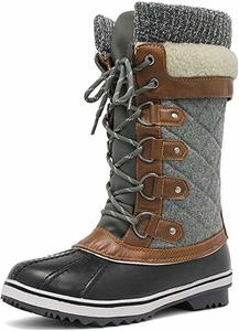 #4 DREAM PAIRS Women's Mid-Calf Snow Boots