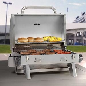 #4 Masterbuilt 205 Stainless Steel Gas Grill