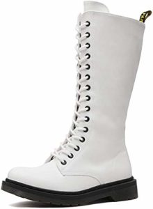 #5 DREAM PAIRS Mid Calf Women's Combat Boots