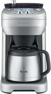 #5. Breville BDC650BSS Brushed Stainless Steel Coffee Maker with Grind Control