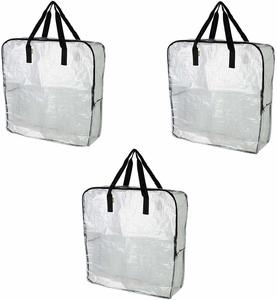 #5. Pack of 3 – Clear Extra Large Storage Bag, Under the Bed Storage