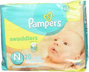 5. Pampers Swaddlers Newborn 240 Diapers