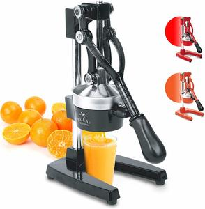 #5. Zulay Professional Manual Citrus Juicer Squeezer
