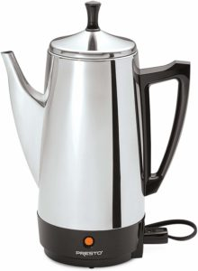 #6 Presto 02811 12-Cup Stainless Steel Coffee Maker