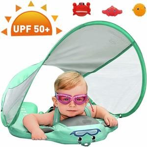 7. Preself Upgraded Baby Float Mambobaby Swim Ring