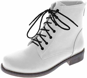 #8 Harper Shoes Women's Combat Boots
