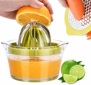 #8. Drizom Citrus Lemon Orange Lime Hand Squeezer Juicer