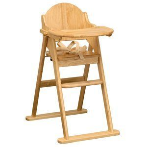 8. East Coast Folding Highchair
