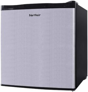 #8. Northair Upright Freezer, 1.1 Cubic Feet Capacity
