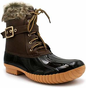 #9 Nature Breeze Duck-01 Snow Boots