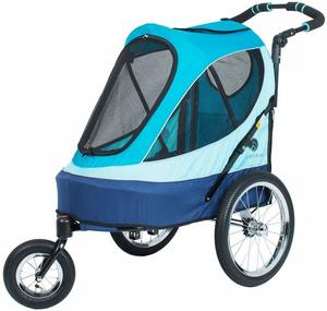 #9 Petique Jogger-Blazin' Berry All Terrain Pet Stroller