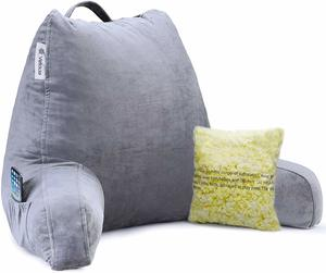 #9 Vekkia Premium Soft Reading Pillow