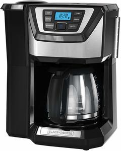 #9. BLACK+DECKER Mill and Brew 12-Cup Coffeemaker