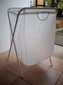 #9. Ikea Laundry Foldable Bag with Stand 26 H