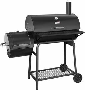 #9. Royal Gourmet BBQ Offset Charcoal Grill with 30'' L, Paint Not Flake