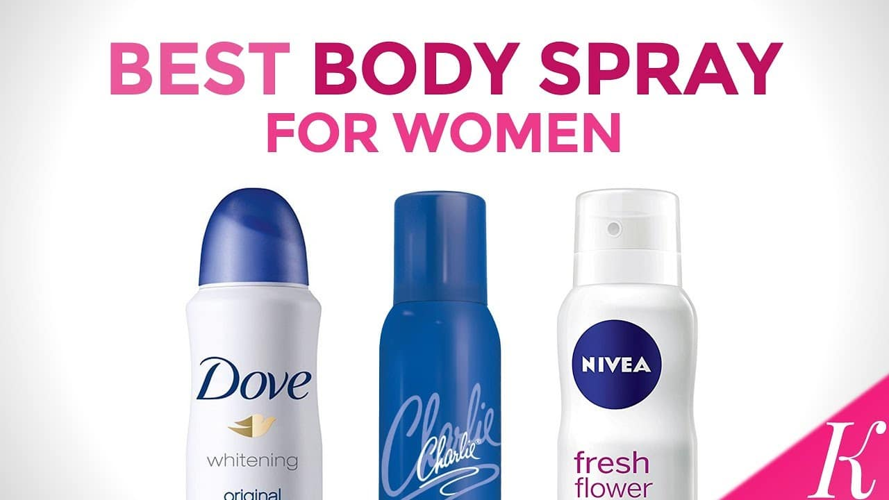 Top 10 Best Body Sprays for Women Reviews in 2020