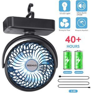 Top 10 Best Camping Fans in 2021 Reviews