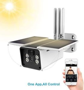 10. FUVISION Solar Powered Wireless 1080P Home Security Camera