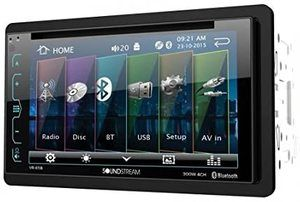 #10. Soundstream VR-65B Double-DIN AM FM